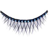 False Eyelashes Dazzling Sapphire Diamante (com cristais azul escuro) $25,00