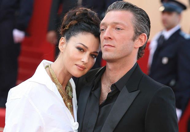 Monica Bellucci with Husband Vincent Cassel